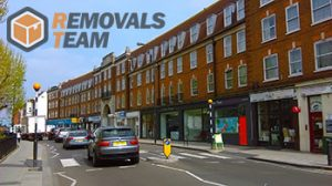 West London moving team