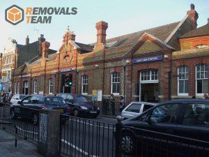 East Ham station building