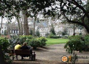 Bedford Gardens in Bloomsbury